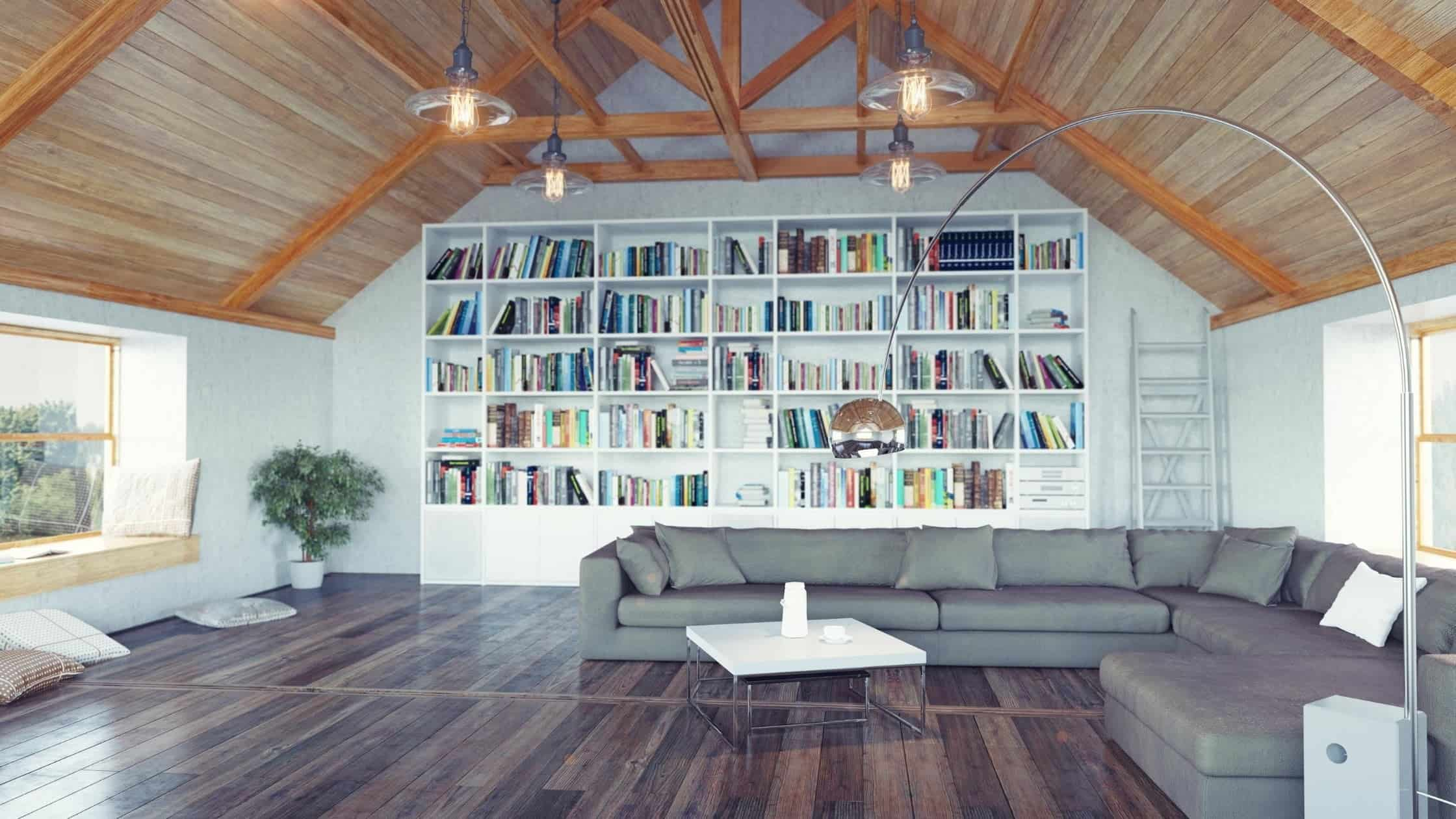 Attic Library Ideas