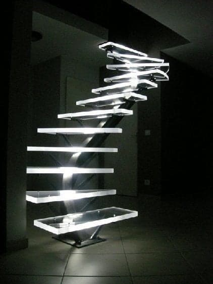 LED lights for attic stair