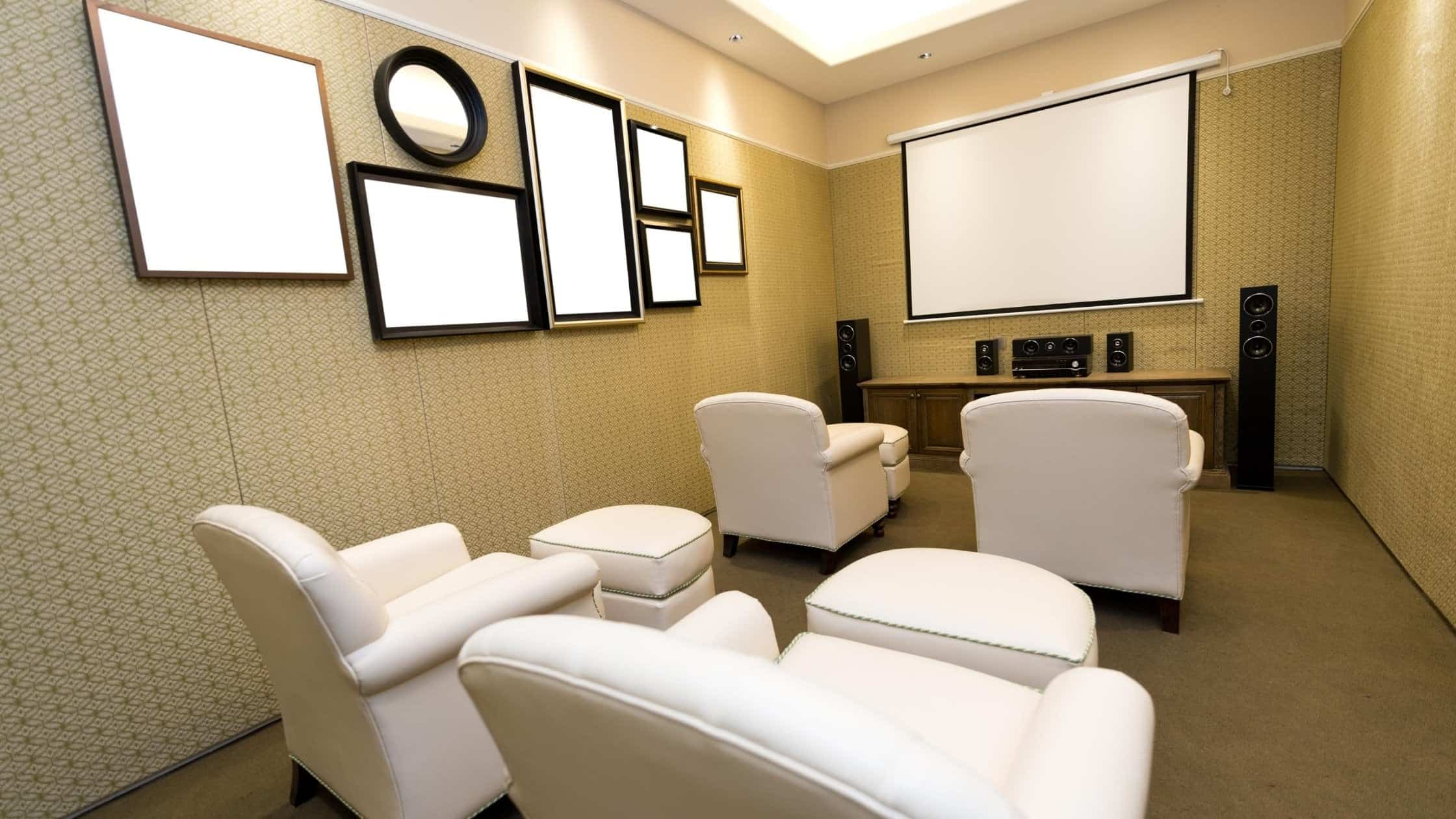 attic home theater ideas