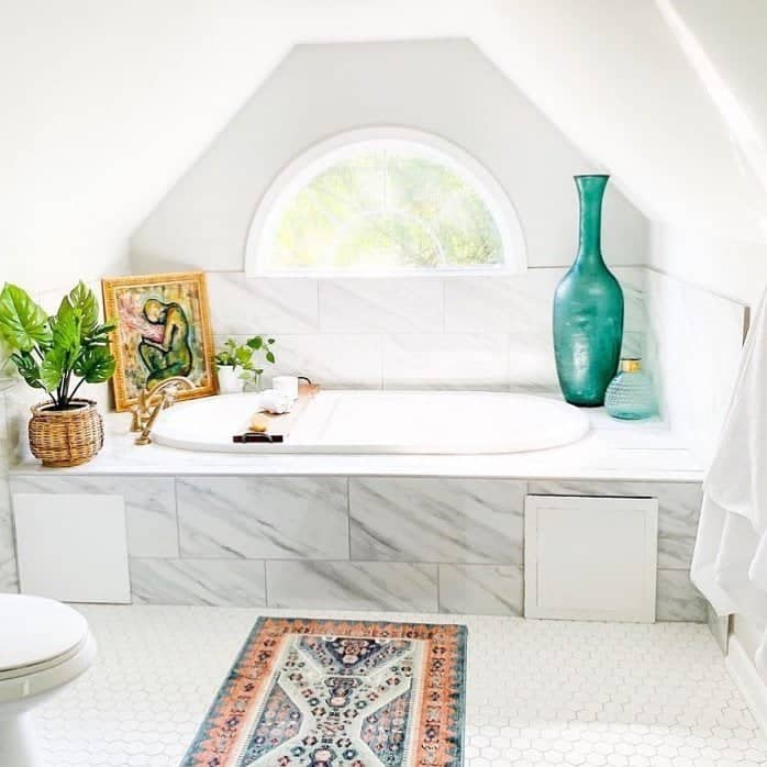best attic bathroom idea