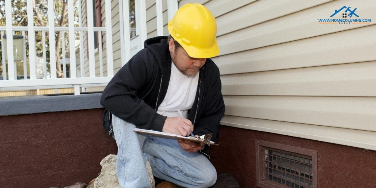 exterior and interior assessment by good home inspector