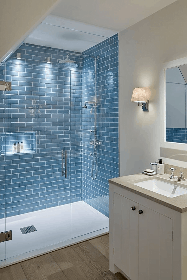tiny attic bathroom ideas