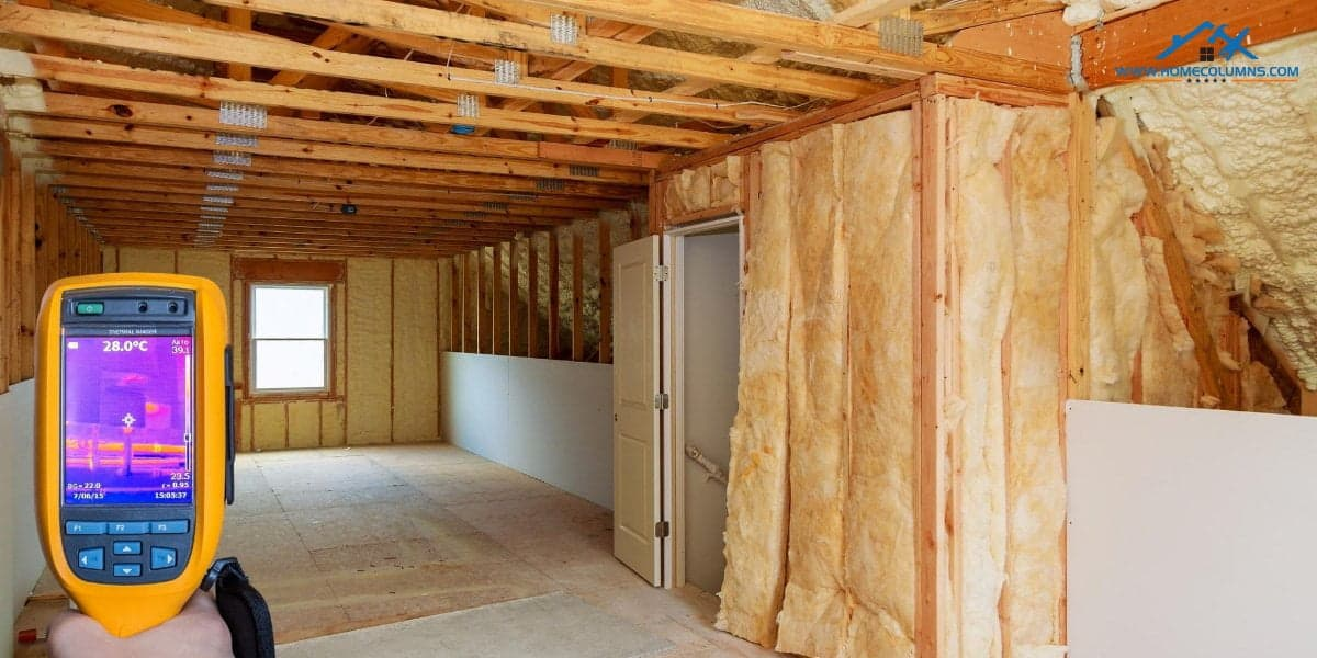 ventilation and insulation inspection by good home inspector