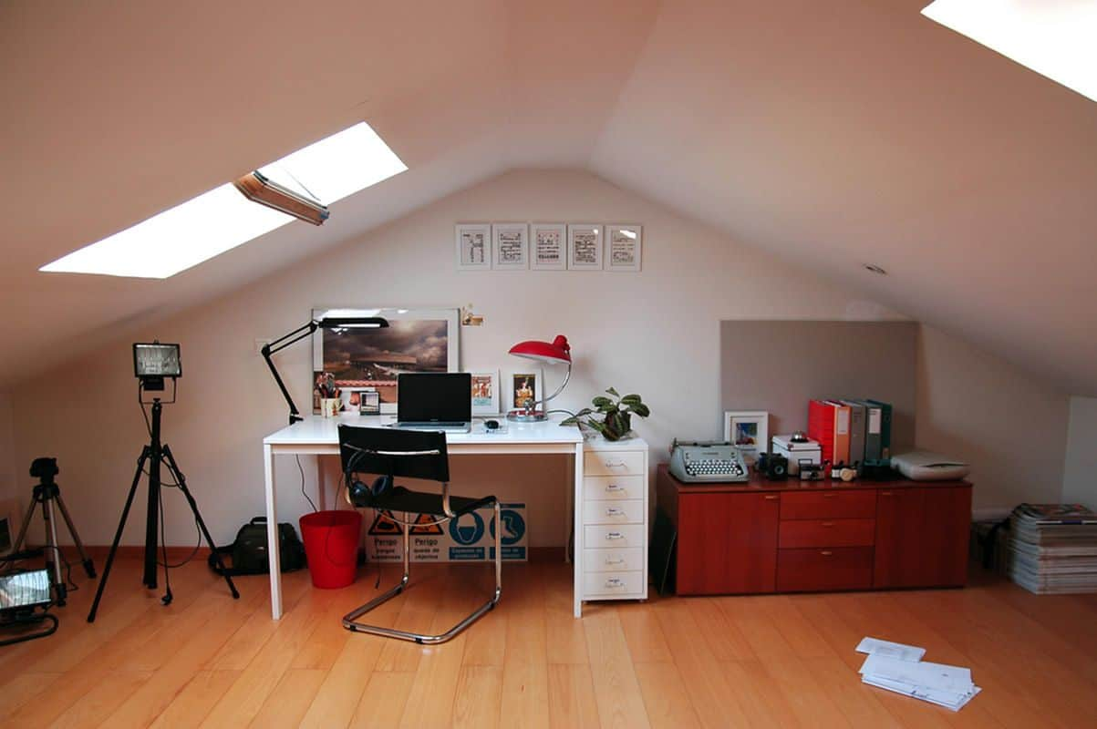 consider your job type for your attic office