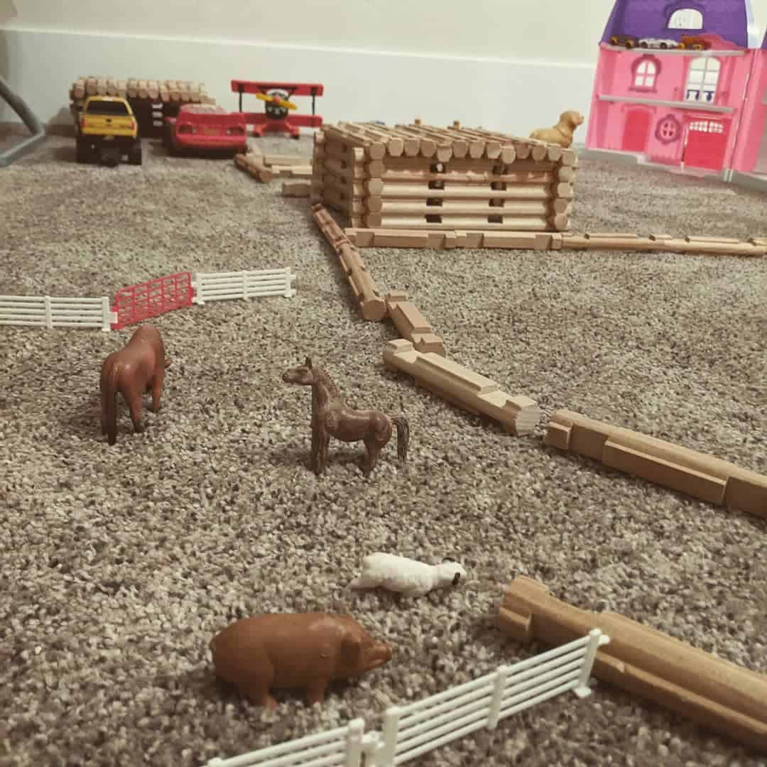 create a mini ranch in your kids attic playroom