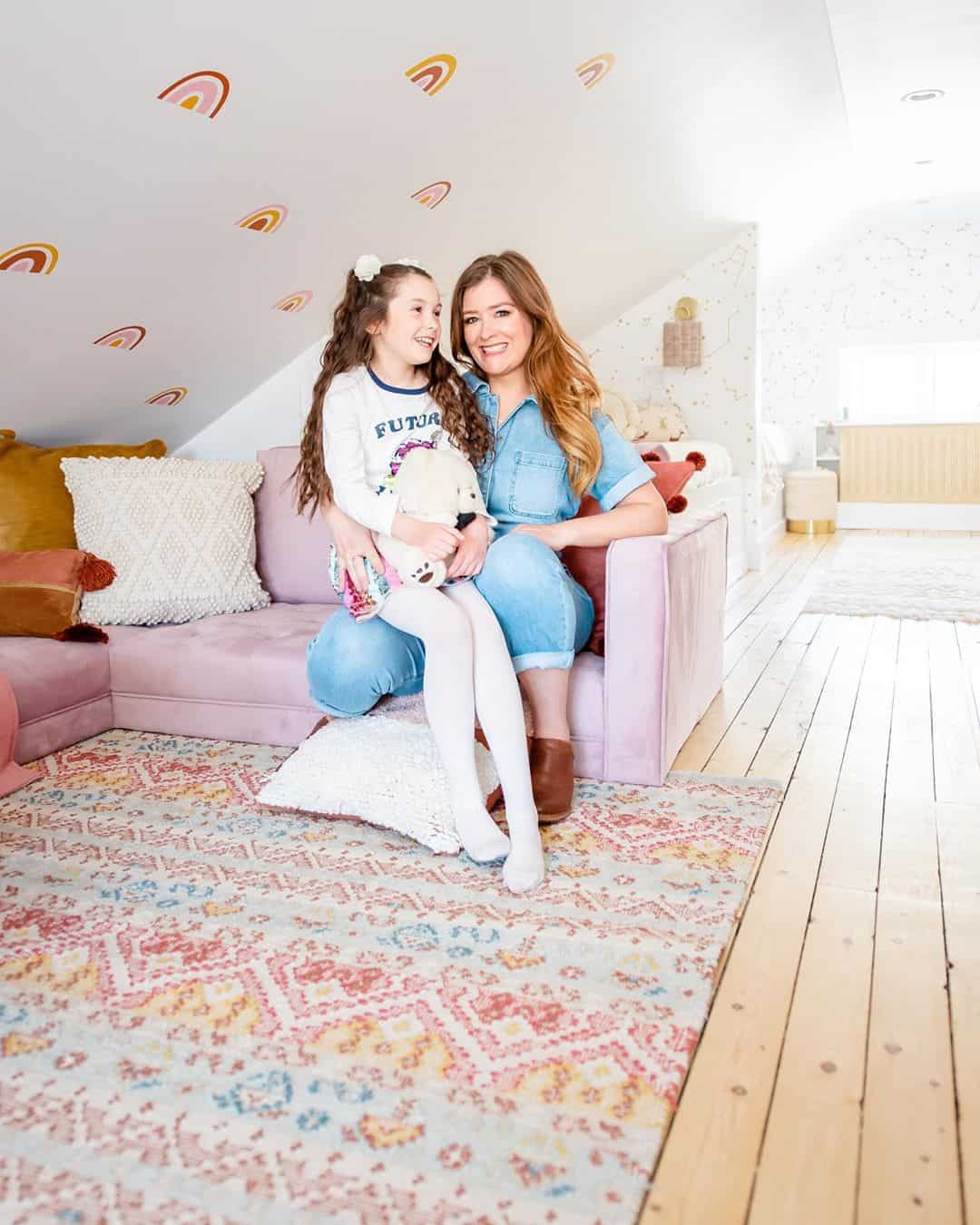 get your kids favorite colors as their attic playroom