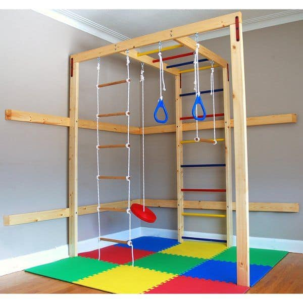 have an indoor jungle gym in your attic playroom