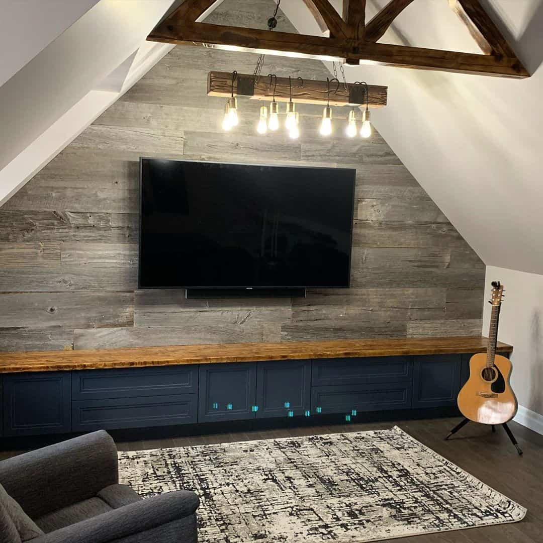 have enough lighting for your attic game room