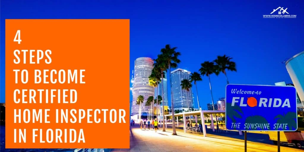 how to become a home inspector in florida