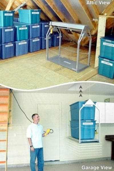 install a lift system in your attic new