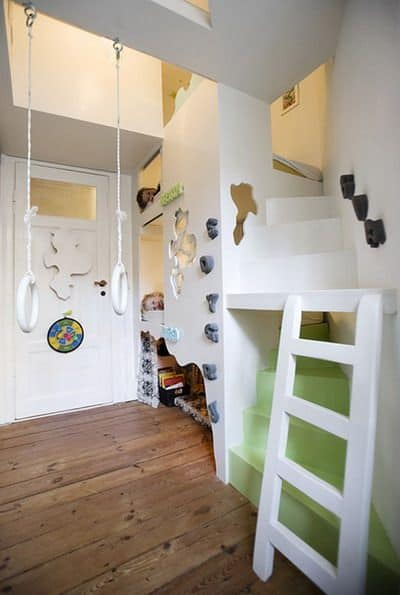 make it challenging for your kids playroom