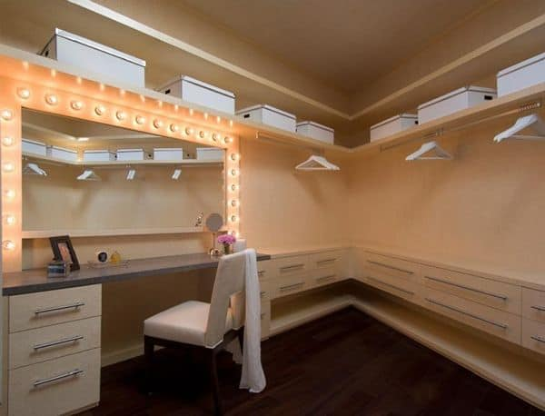 personalized dressing room as your attic closet