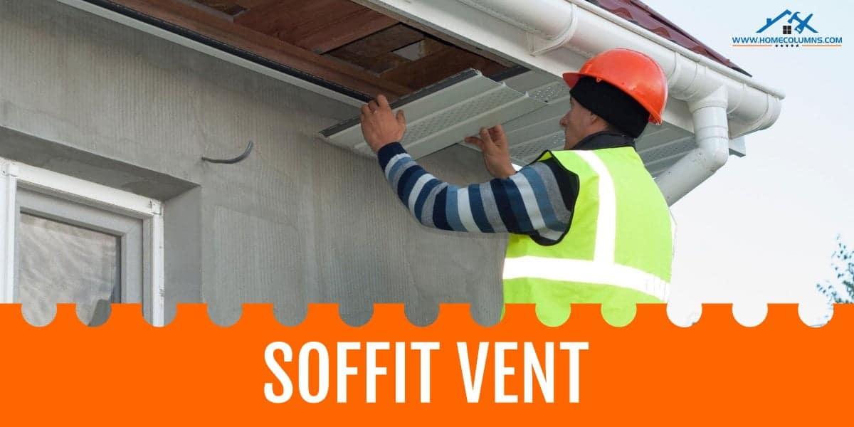 soffit vent for attic