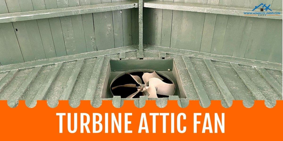 wind powered turbine attic fan