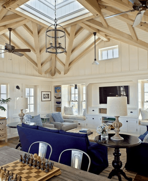 Centralized Ceiling Structure