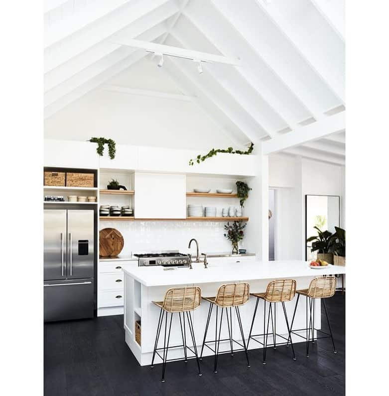 Compressed Kitchen Ceiling