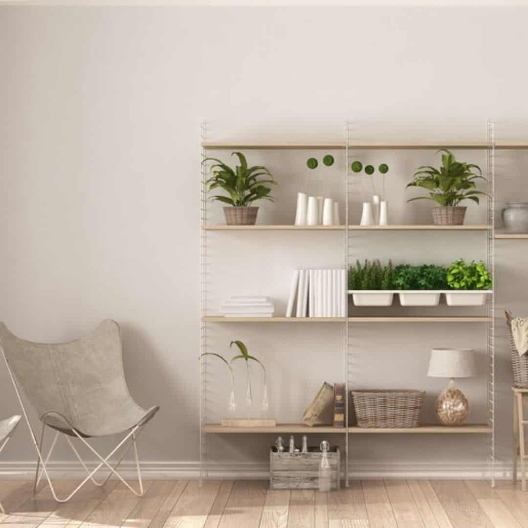 Lightweight Shelves as Attic Shelf