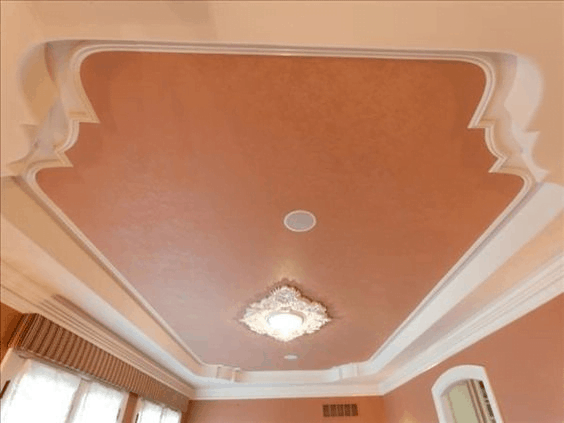 Luxurious Classical Architecture Ceiling