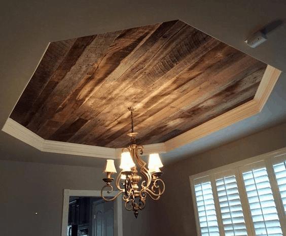 Octagonal Outline Ceiling