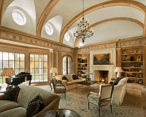 Rounded Ceiling